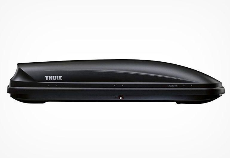 Thule Pacific 600 Dachbox mit Fast-Grip Schnellbefestigungssystem