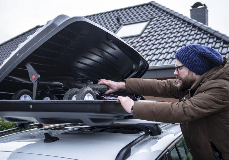 Dachbox richtig packen - Auf das Gewicht achten